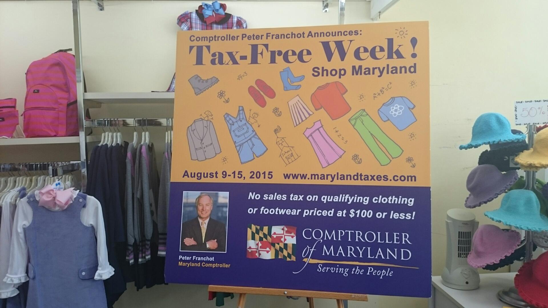Season for savings begins with Md., Va. sales tax holidays
