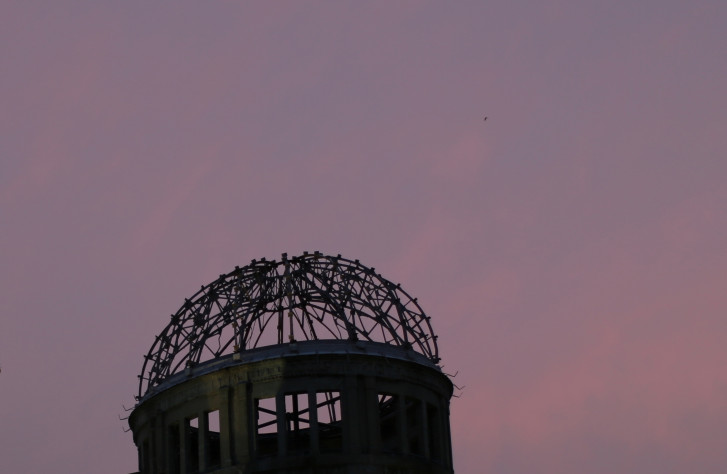 ap photos hiroshima after the atomic bomb and today wtop a bomb hiroshima photo essay in this 3 2015 photo the atomic bomb dome as it is known today is seen at dust in hiroshima western