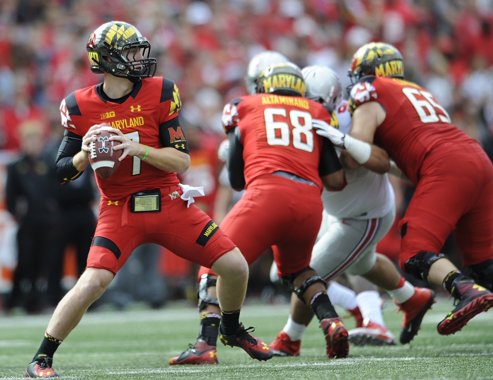 College Football Corner: The Terps' tough task