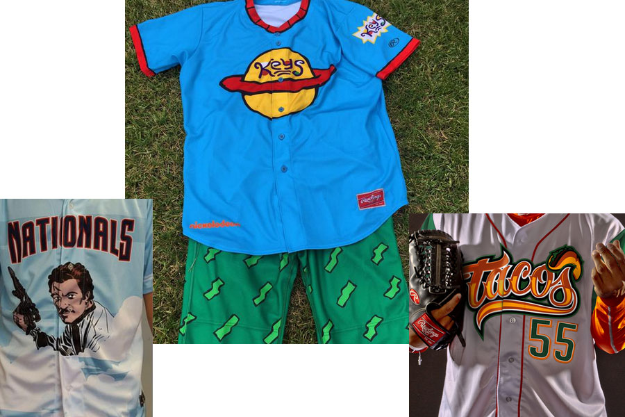 Tacos, Rugrats and Lando Calrissian: The crazy world of minor league uniforms