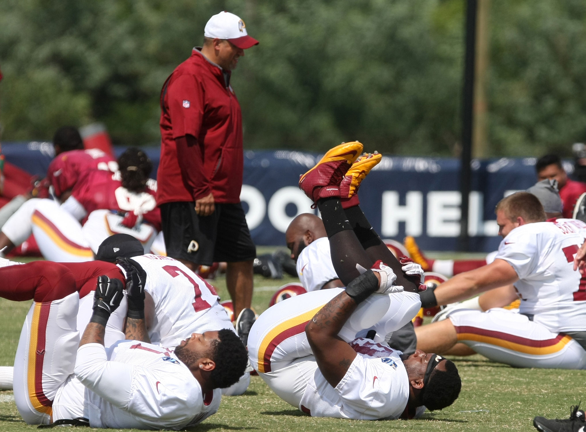 Redskins prepared for Texans' visit to Richmond