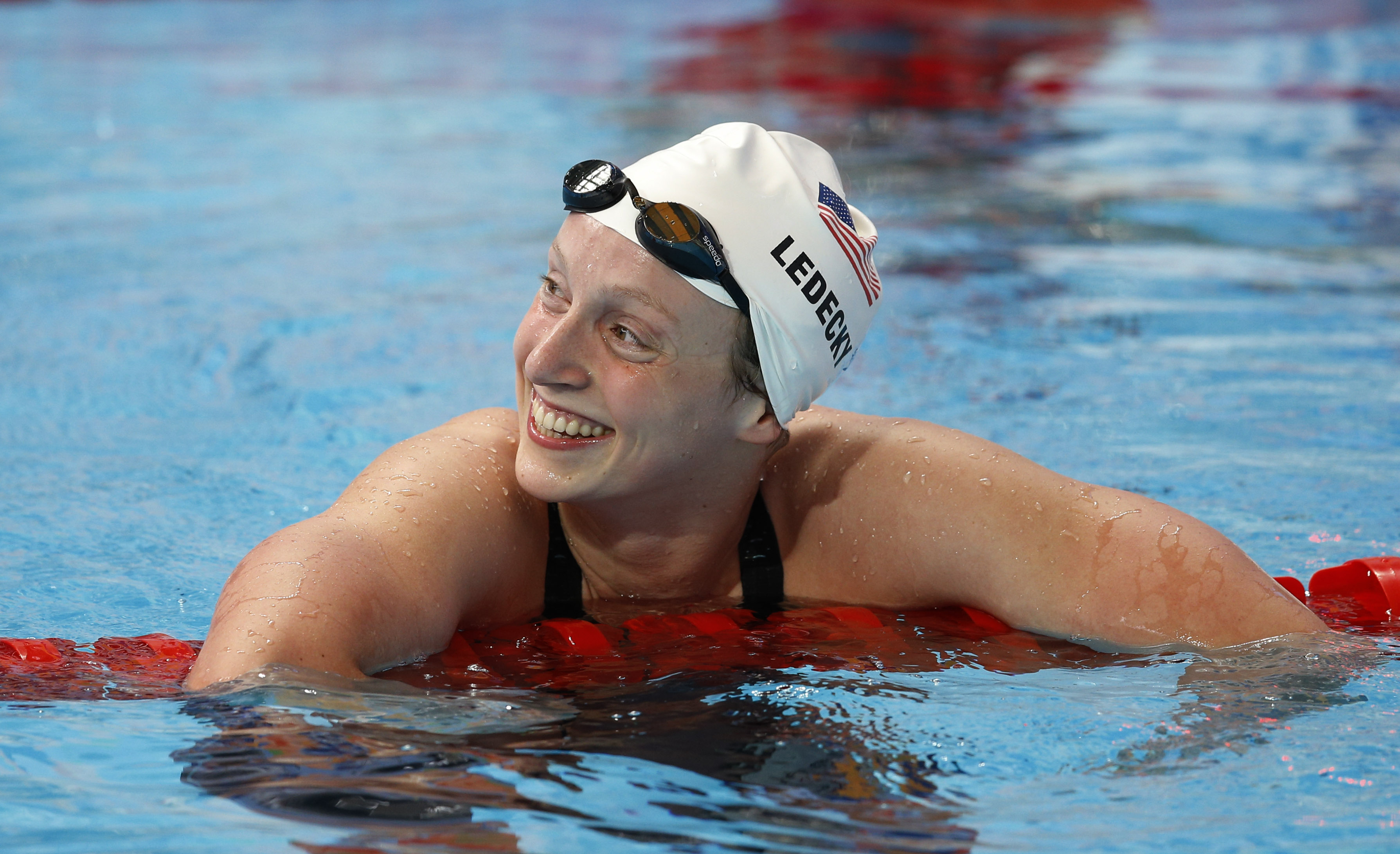Maryland's Ledecky named USA Swimming's Athlete of the Year
