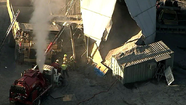 Missing worker found dead after Va. silo collapse