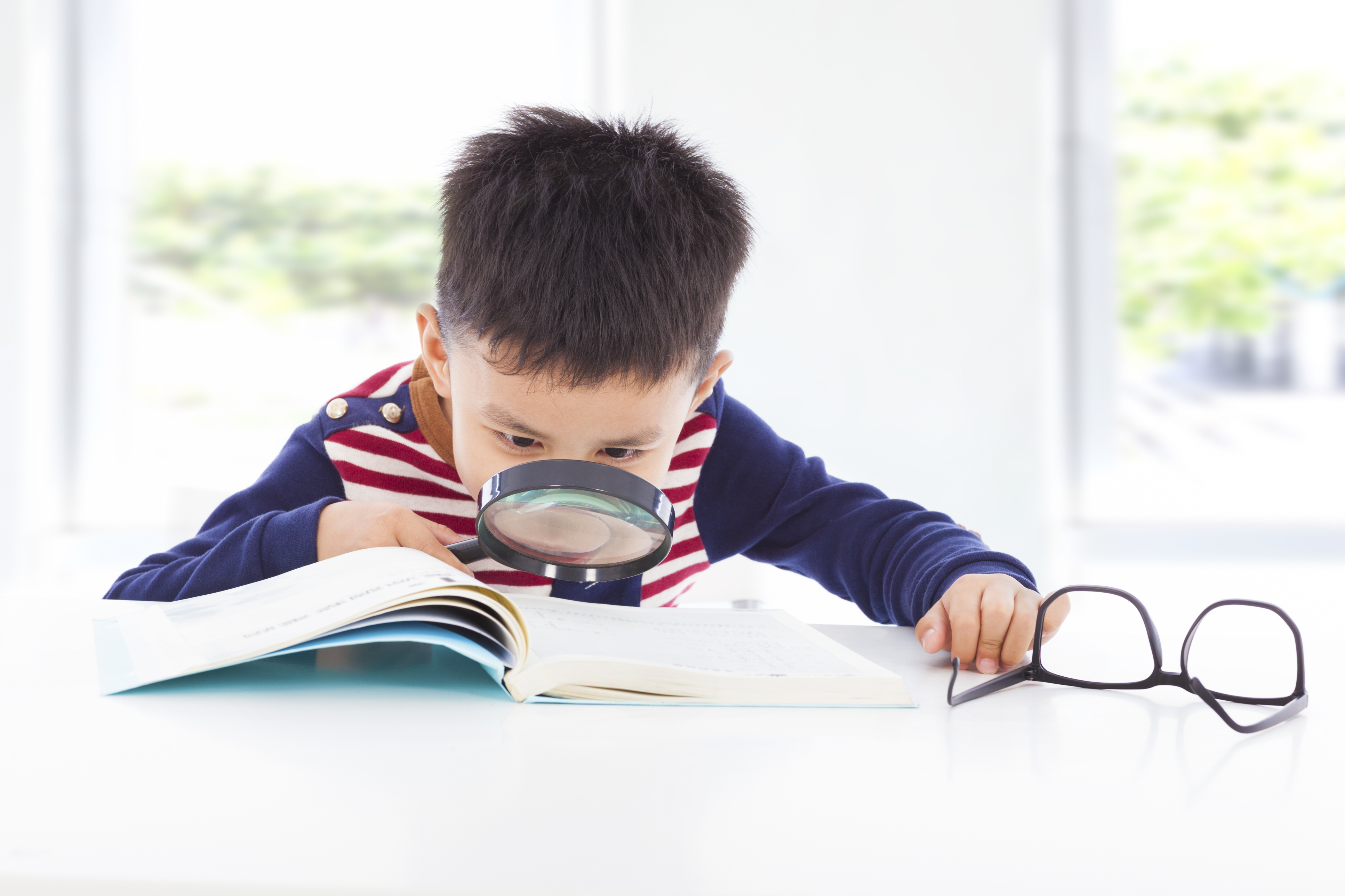 The importance of keeping an eye on your child's vision