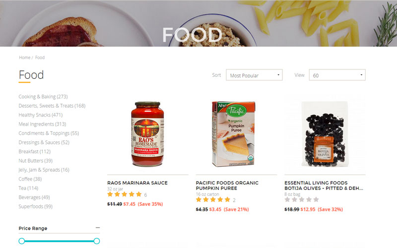 Online grocery retailer merges discount member model with natural, organic products