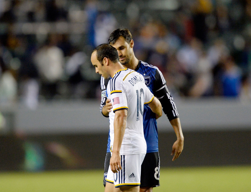 Donovan's and Wondolowski's fates are tied in more ways than one. (Getty Images/Kevork Djansezian)