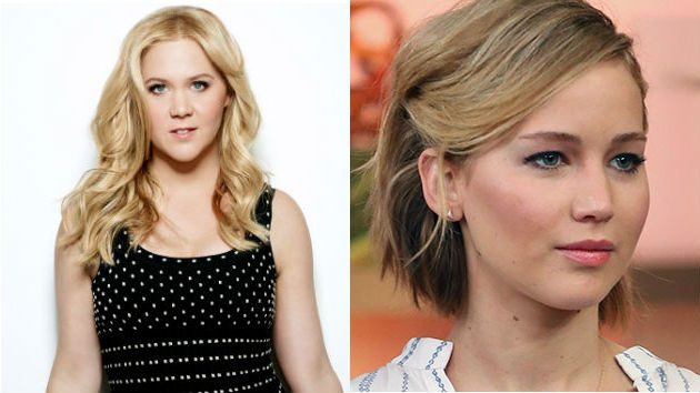 Jennifer Lawrence and Amy Schumer Are Working on a Screenplay Together