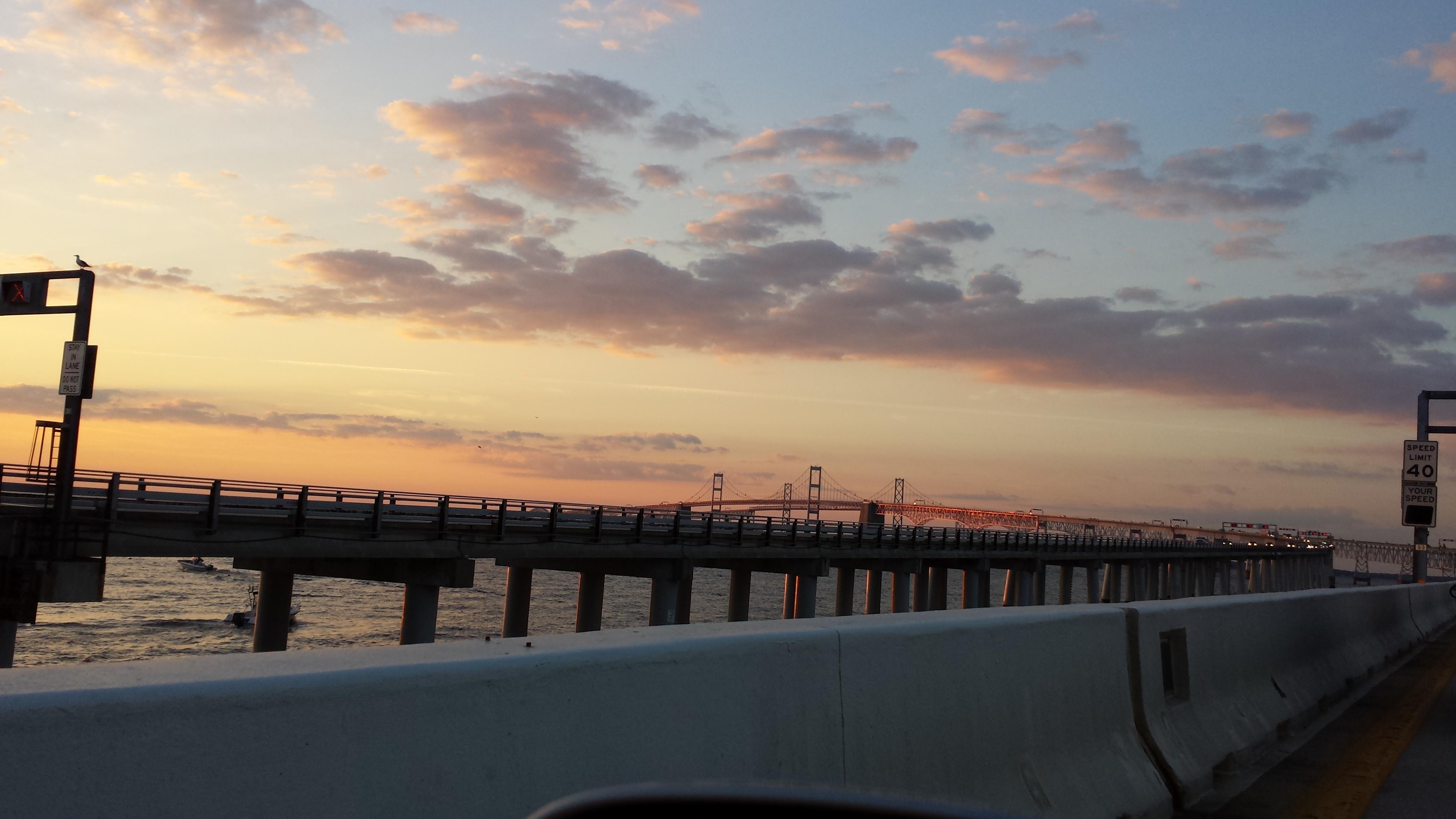 Beach bound? Extreme weather could restrict Chesapeake Bay Bridge traffic