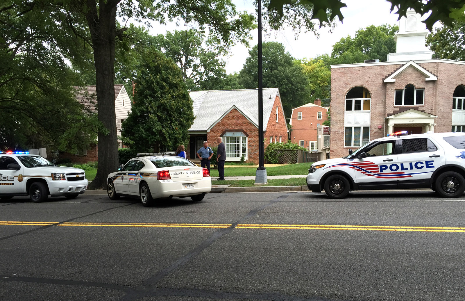 Carjacking reported in D.C.