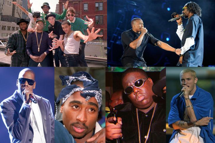 100 hip hop songs: