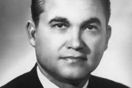 18th May 1964:  Headshot of Governor George C. Wallace of Alabama.  (Photo by Hulton Archive/Getty Images)