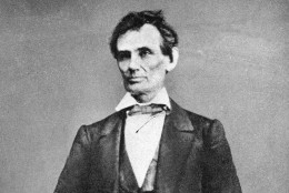 On this date in 1862, President Abraham Lincoln issued the preliminary Emancipation Proclamation, declaring all slaves in rebel states should be free as of January 1, 1863. (AP Photo)
