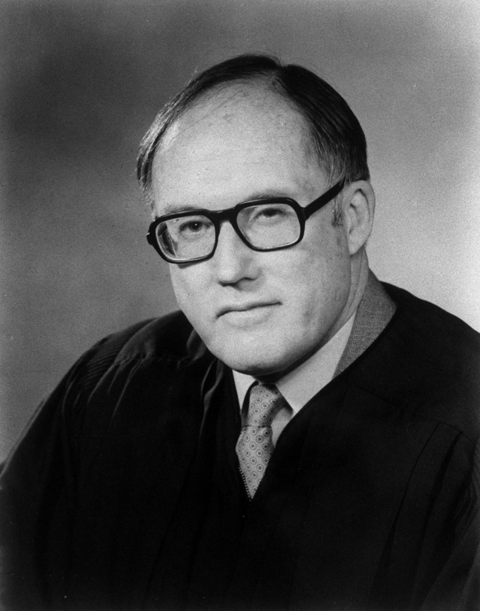 On this date in 2005, U.S. Chief Justice William H. Rehnquist died in Arlington, Virginia, at age 80, after more than three decades on the Supreme Court. ( AP Photo / file  )
