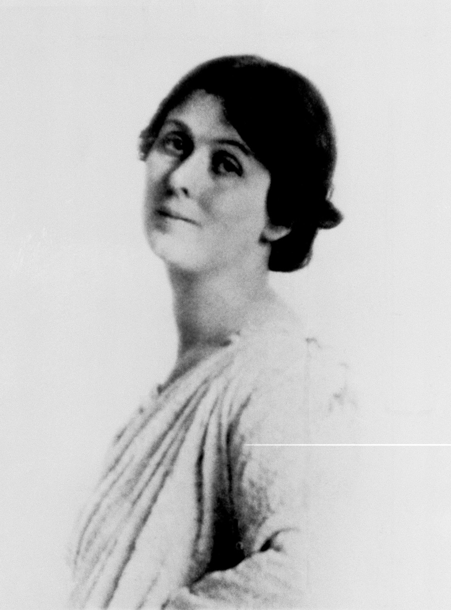 On this date in 1927, modern dance pioneer Isadora Duncan died in Nice, France, when her scarf became entangled in a wheel of the sports car she was riding in. Duncan is shown in this undated photo. (AP Photo)