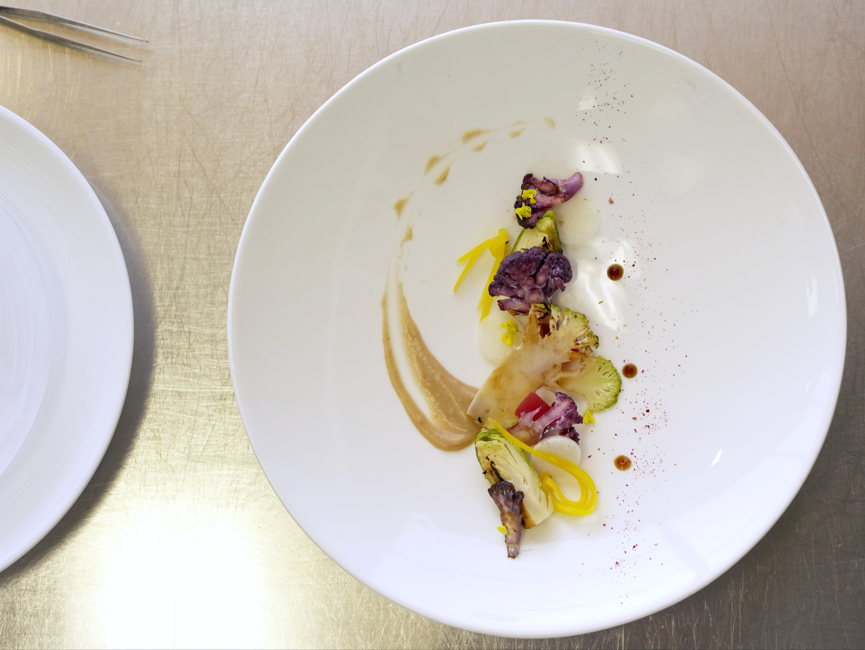 Making lettuce luxury: Vegetarian menus succeed in fine dining
