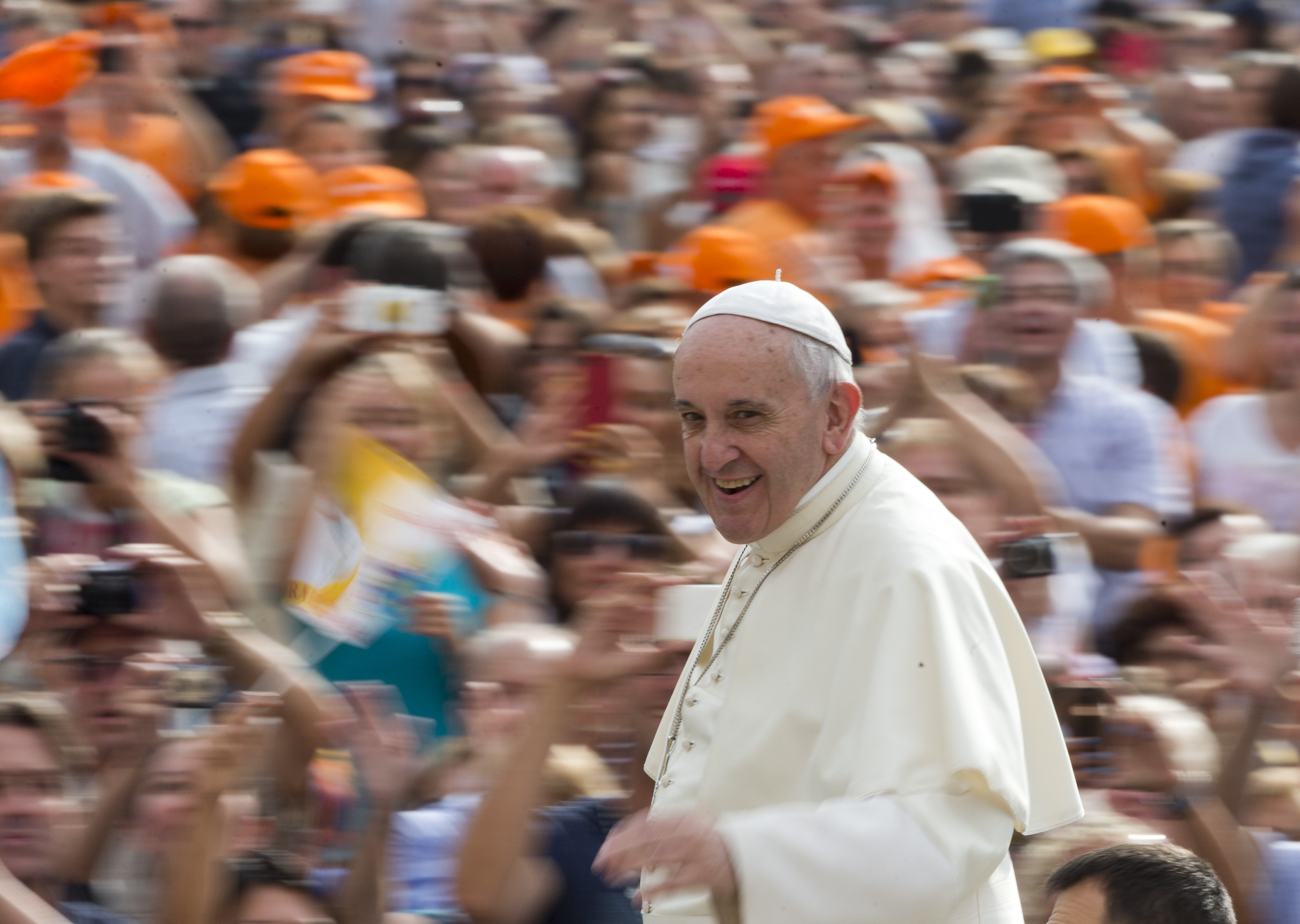 Federal employees encouraged to work from home during papal visit