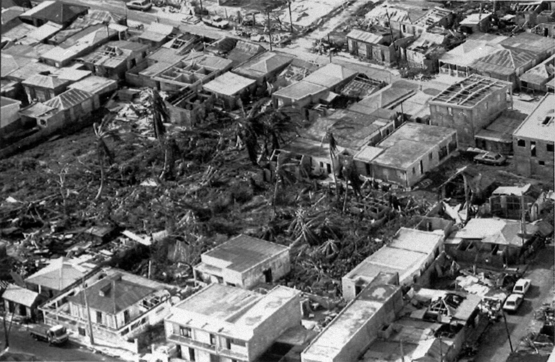 In 1989, Hurricane Hugo crashed into Charleston, South Carolina.(AP Photo)