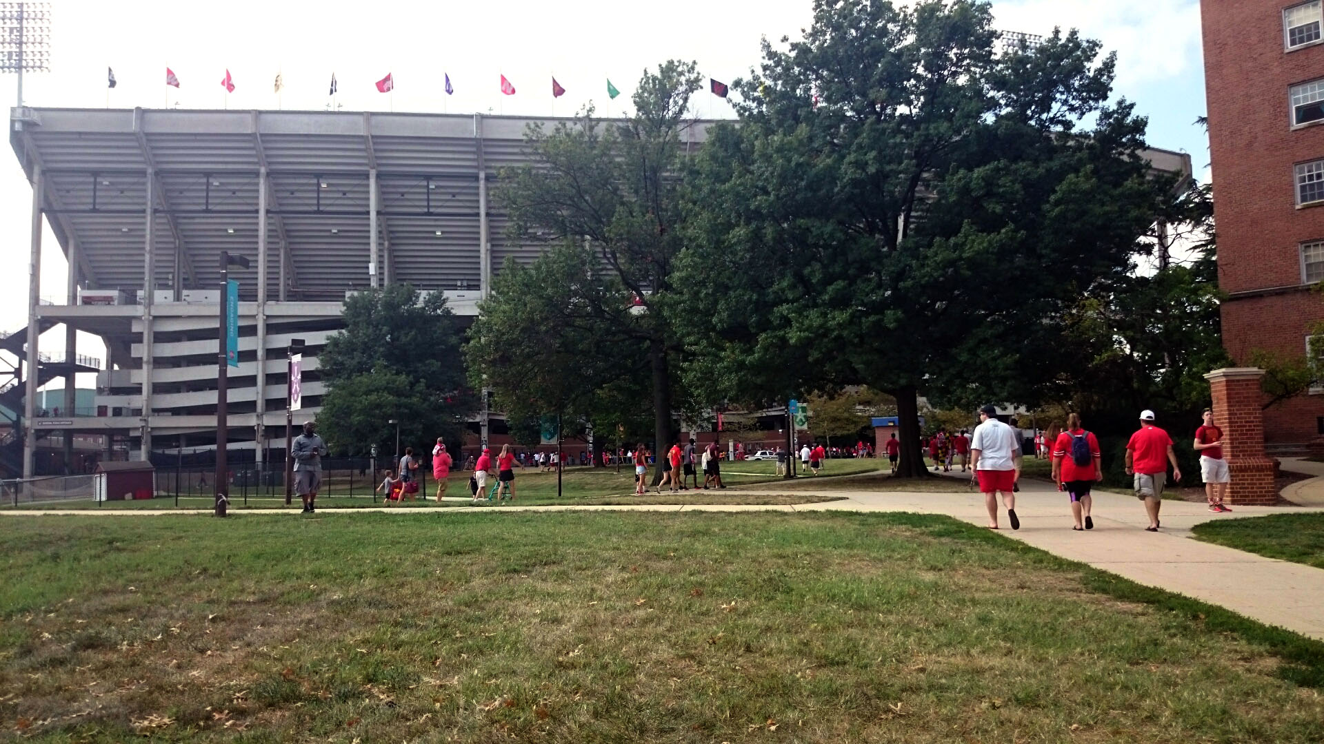 U.Md. president recommends renaming Byrd Stadium