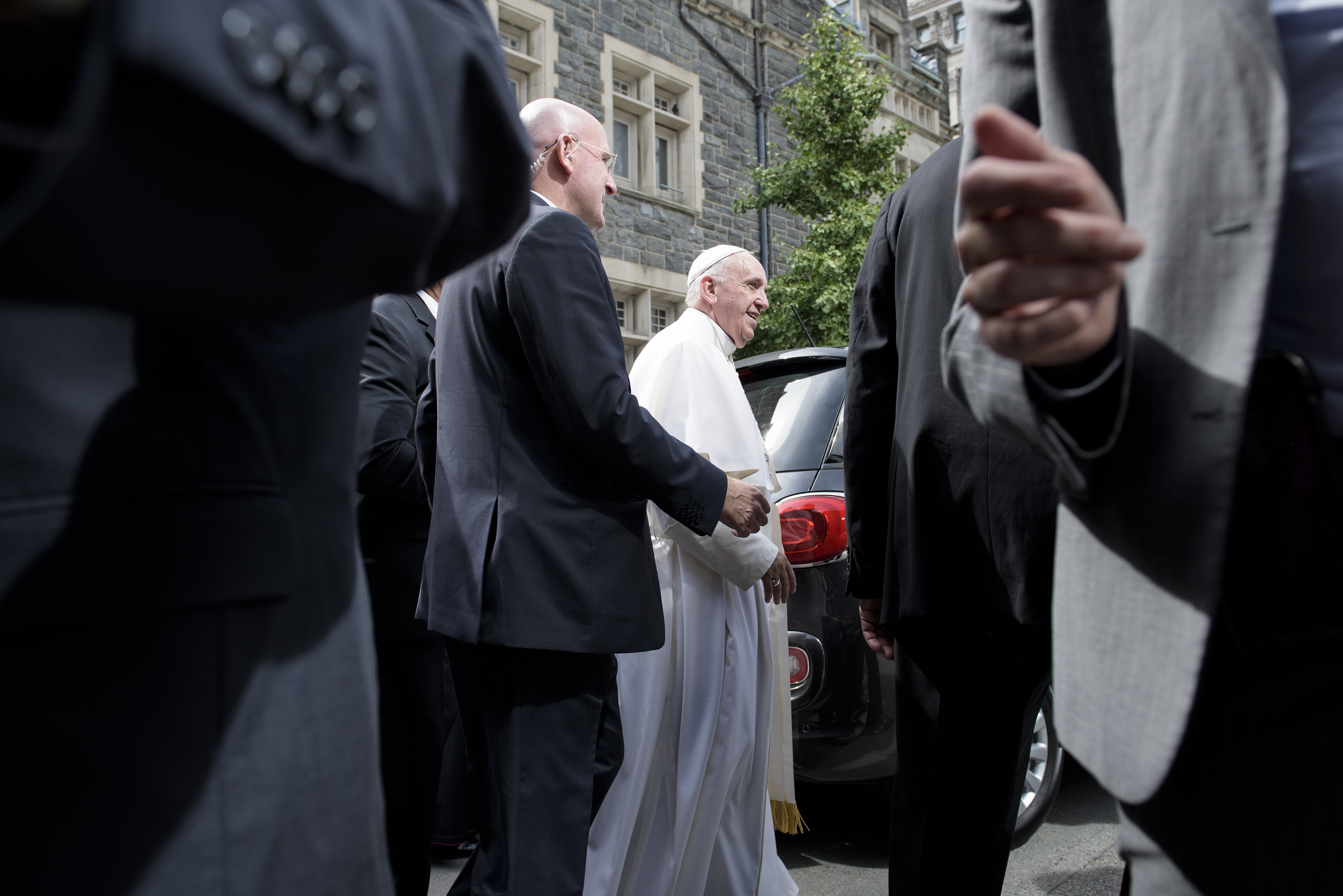 D.C. official: Pope visit went 'extremely well'