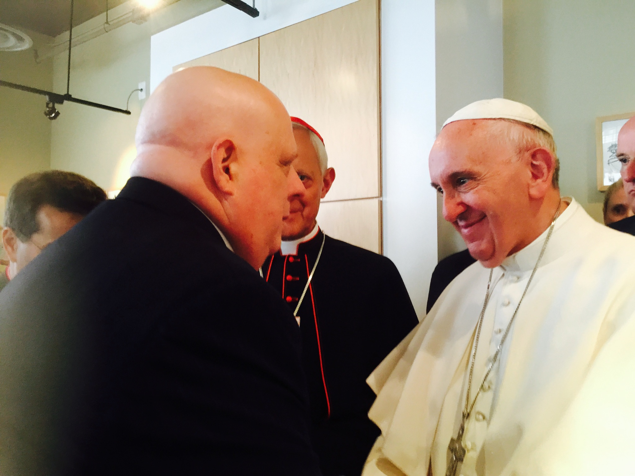 Gov. Hogan opens up about special blessing from Pope Francis