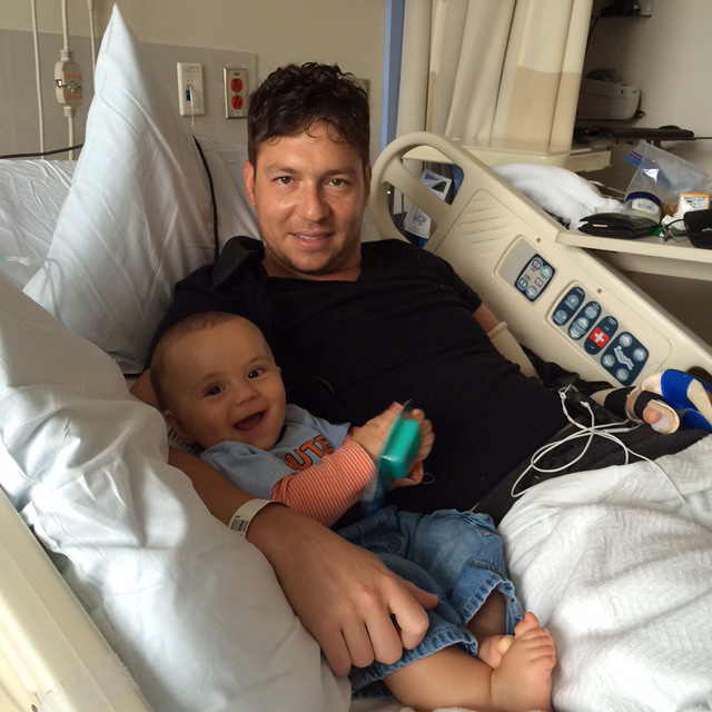 Va. man undergoes arm transplant surgery with goal to hold his new son
