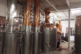 When Jos. A. Magnus & Co. opened its doors in the Northeast D.C. neighborhood of Ivy City on Sept. 12, the distillery revived a century-old spirit. (WTOP/Rachel Nania)