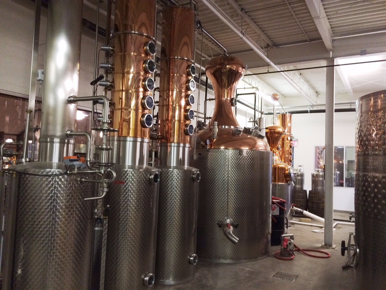 D.C.'s newest distillery is steeped in history