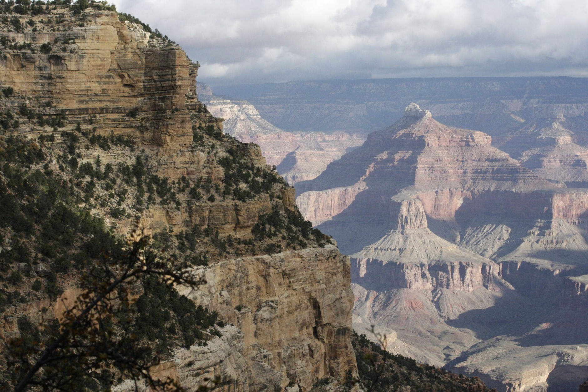 FILE - This Oct. 22, 2012, file photo shows a view from the South Rim of the Grand Canyon National Park in Arizona.(AP Photo/Rick Bowmer, File)