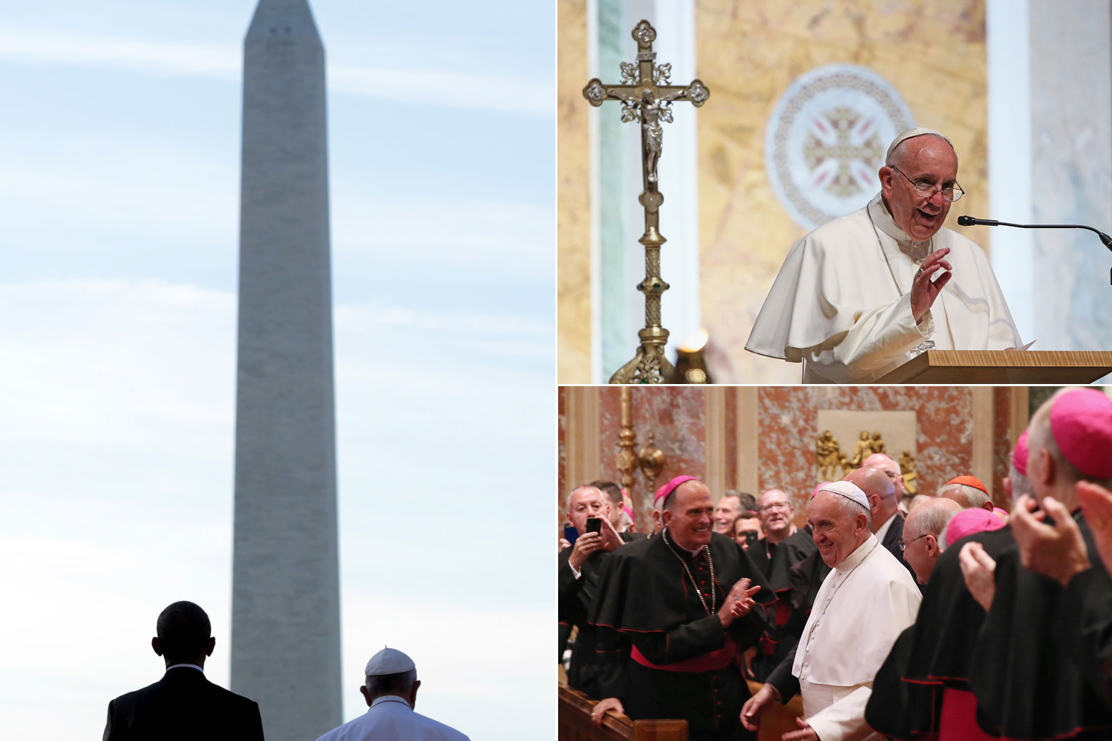 Historic highlights of Pope Francis' D.C. visit