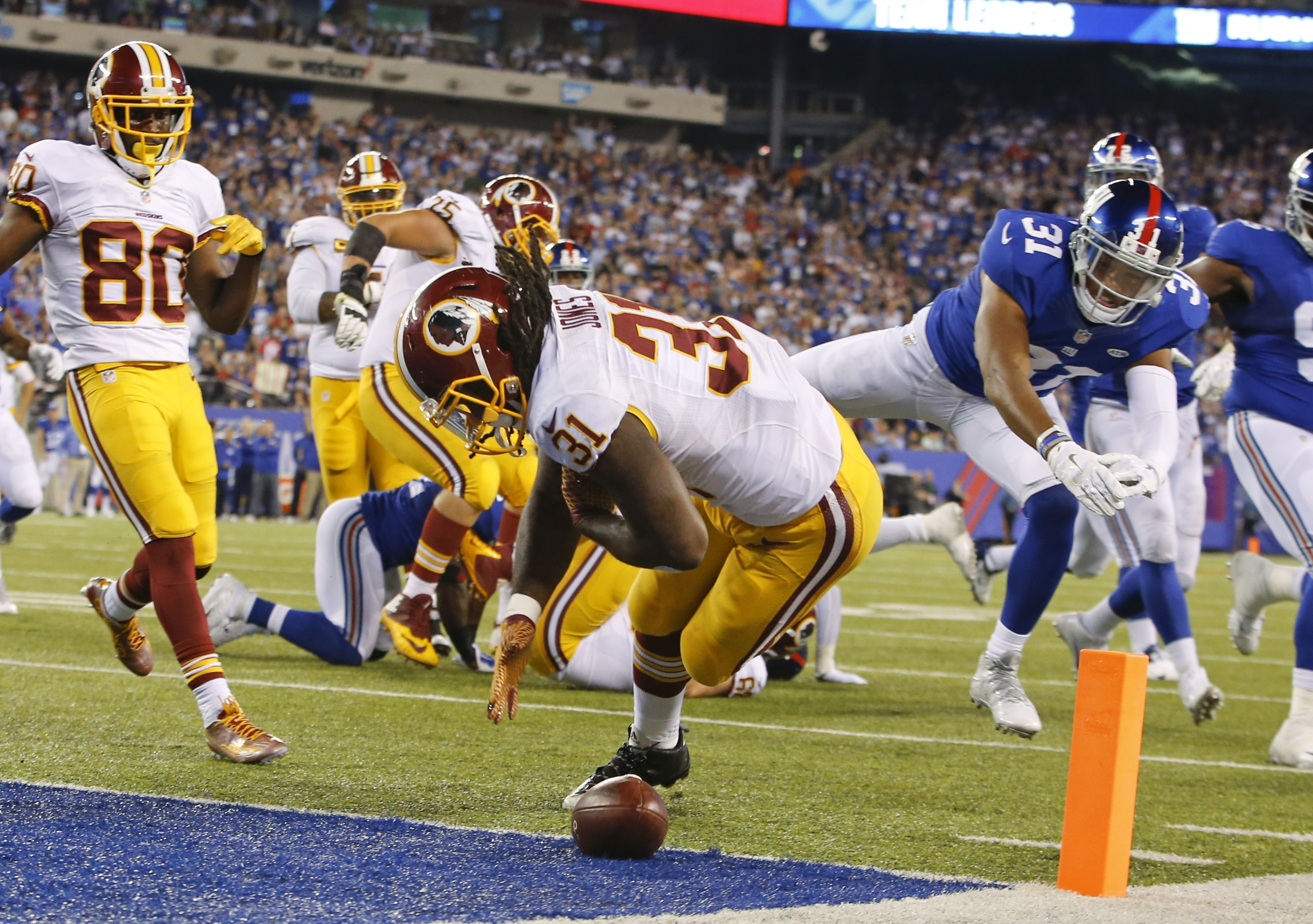 Redskins suffer defeat, but don't seem defeated