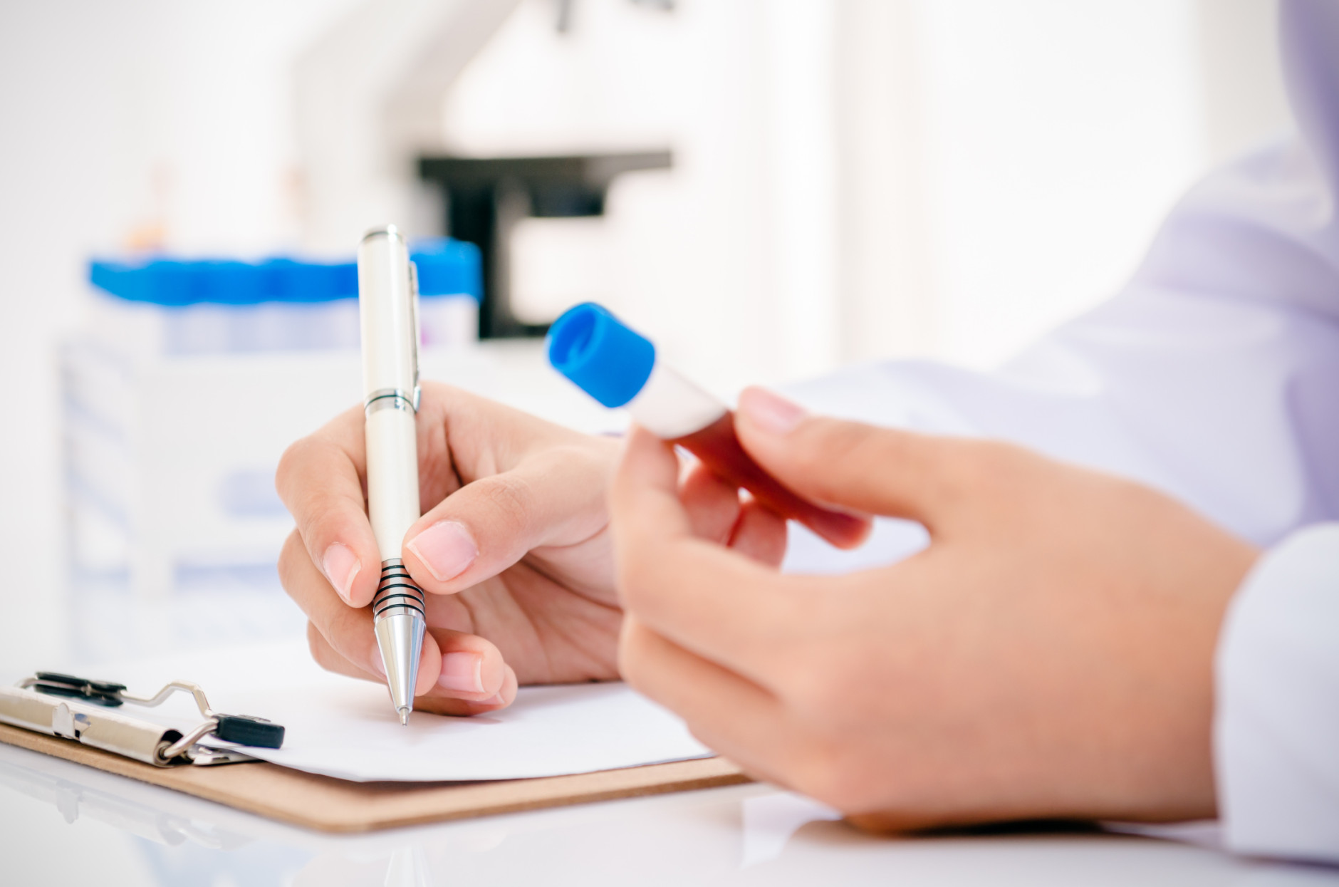 Blood test helps physicians diagnose patients' risk for