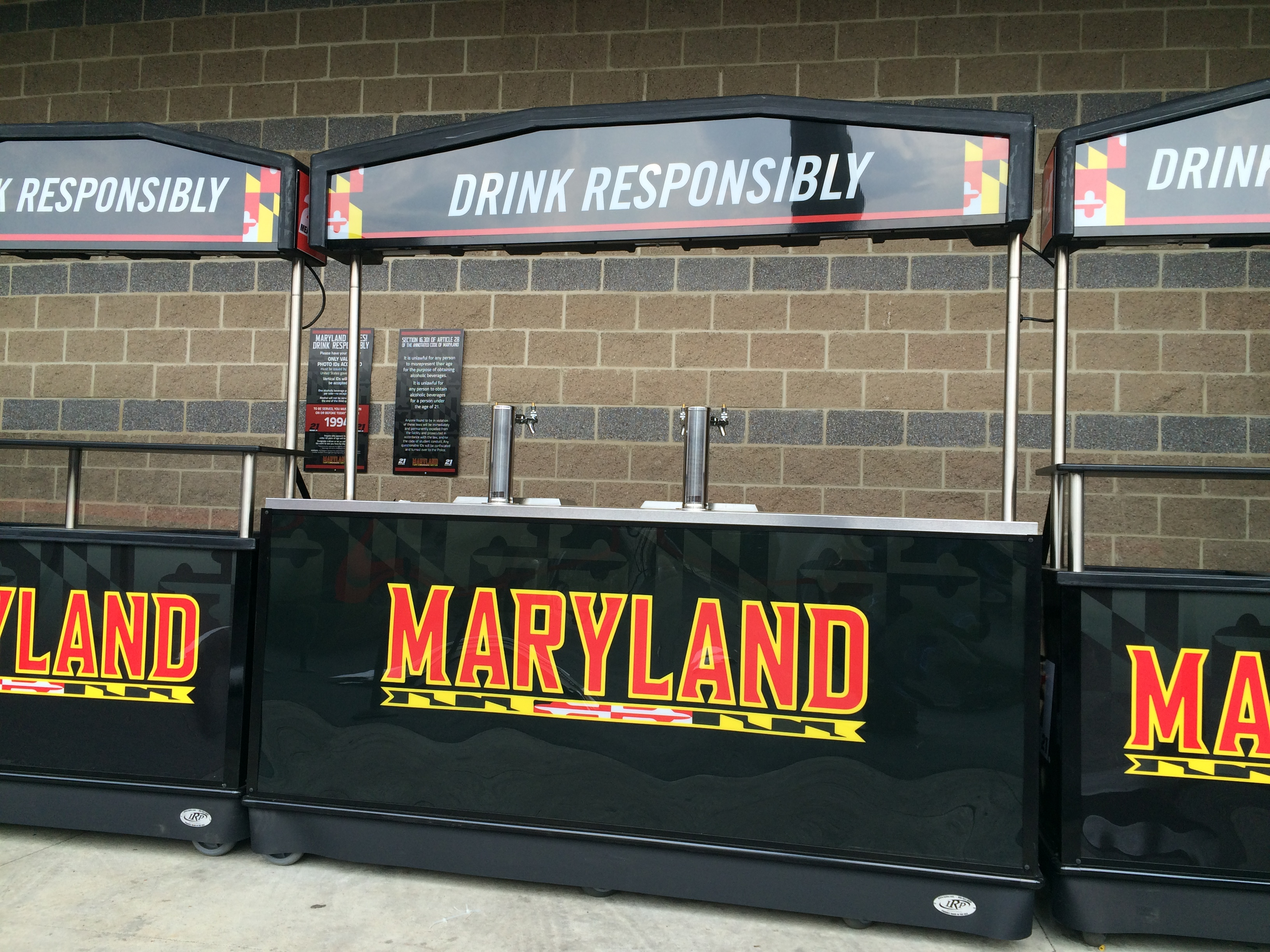 University of Maryland to sell beer at football games