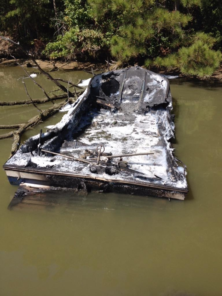 Three children burned in boat explosion in Calvert County