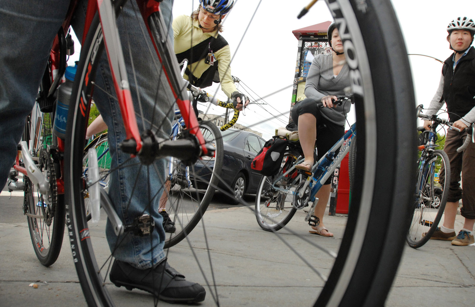 Roads also closed to bikes, pedestrians during papal visit