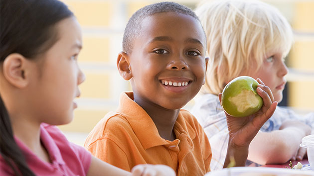 Kids like apples the most, says survey