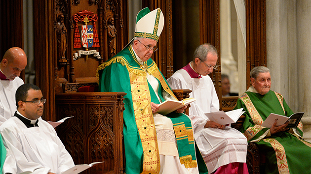 Read What Pope Francis Said at New York's St. Patrick's Cathedral