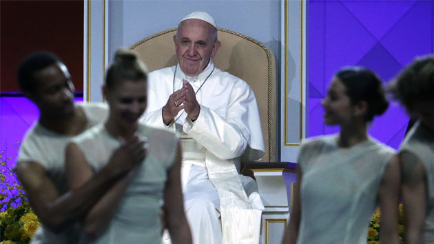 Pope Francis Addresses World Meeting of Families Festival