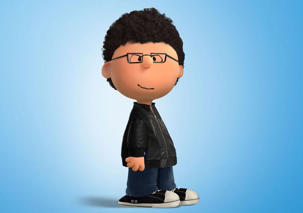 Peanut-ized  himself  Peanuts