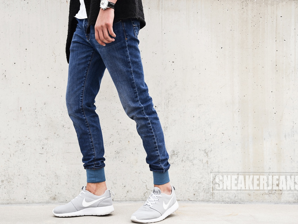 Finally, jeans designed to show off those expensive sneakers
