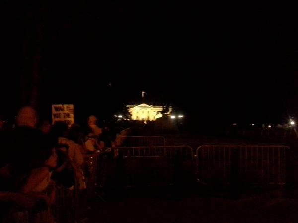 Childhood cancer vigil booted from area near White House