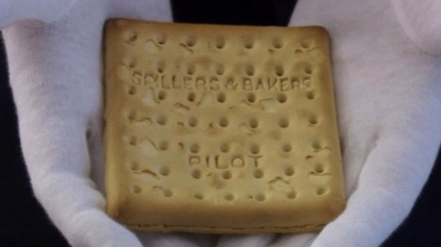 Biscuit that survived the Titanic sinking sold at auction for $23,000