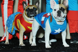 Original Super Friends Wonder Woman and Captain America. (Shannon Finney Photography)