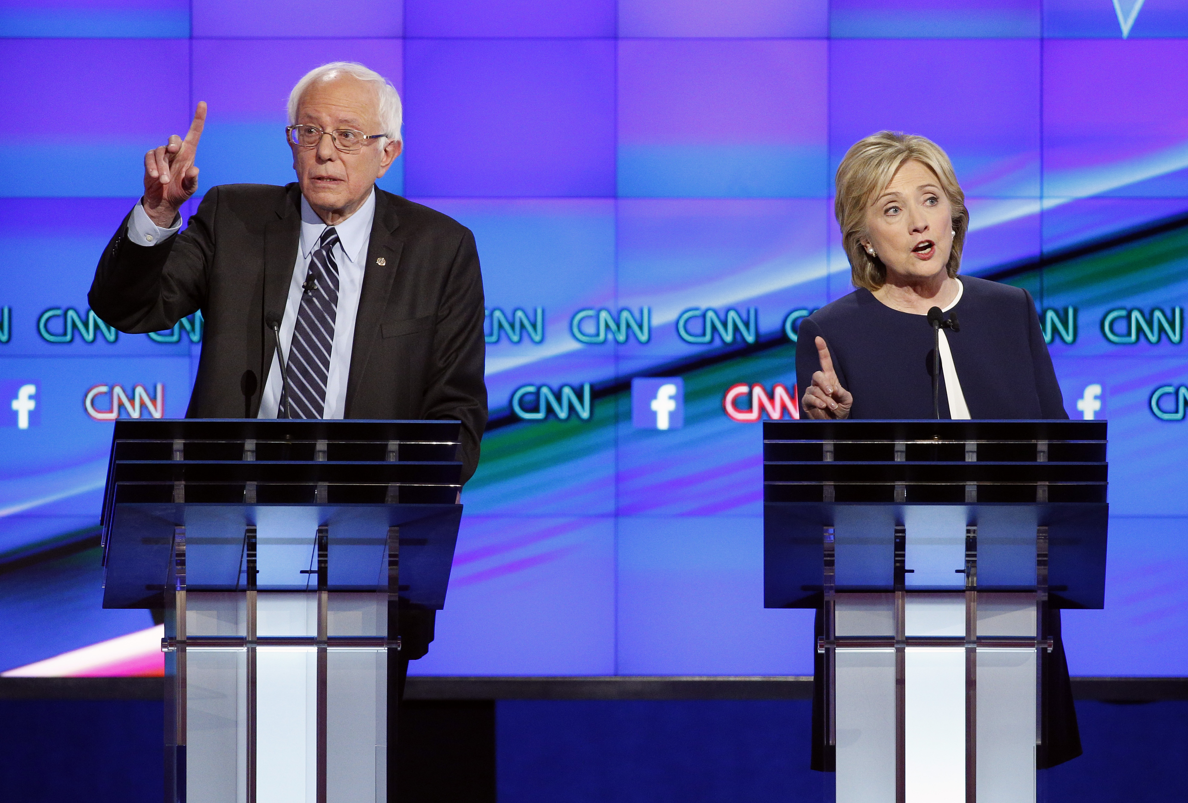 Photos: Democrats hold first presidential debate