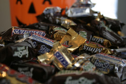 """Fun Size"" and ""Mini"" candies are candy favorites. (AP Photo/Dan Goodman)"