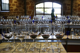 The Orin Swift brand offers consumers a choice of wines running the international gamut, including six labels from California and additional selections from France, Corsica and Argentina.  (AP Photo/Eric Risberg)
