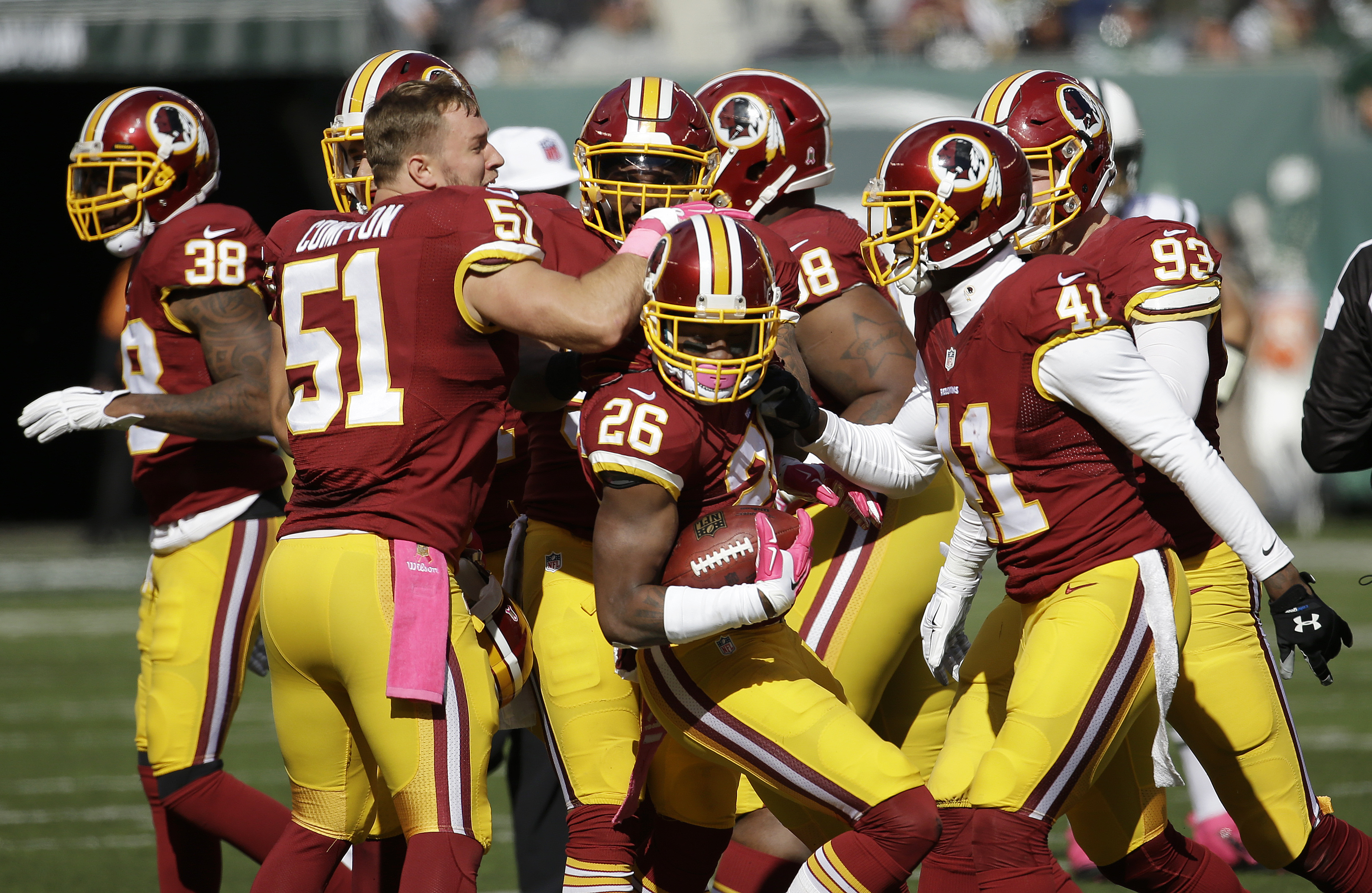 Redskins face must-win against Tampa Bay
