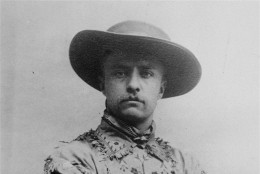 Portrait of Theodore Roosevelt 1885, ranching and hunting in the Dakota Territory.  (AP Photo)