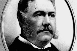 This is an undated portrait of Chester Alan Arthur, 21st president of the U.S., from 1881 to 1885. (AP Photo)