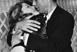 "On this day in 1944, the classic film ""To Have and Have Not,"" starring Humphrey Bogart and Lauren Bacall, opened in New York. (AP Photo/Warner Bros.)"