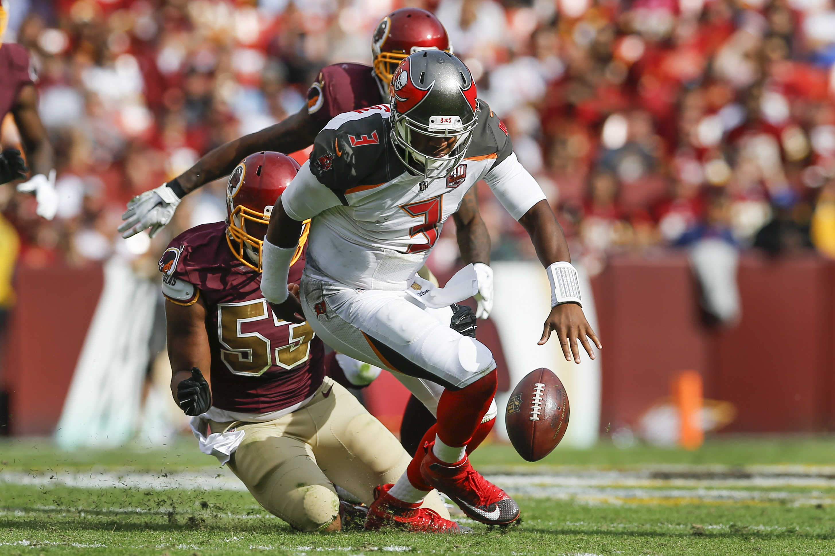 Redskins, Buccaneers game rescheduled due to severe weather in Florida